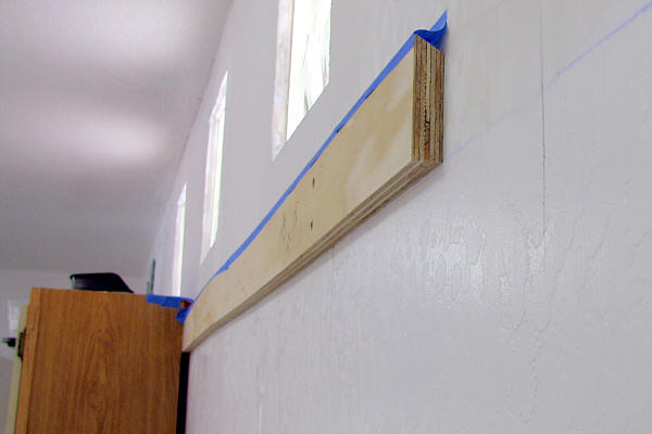 Hanging Wall Cabinets help attaching cabinets to metal studs. - finish carpentry
